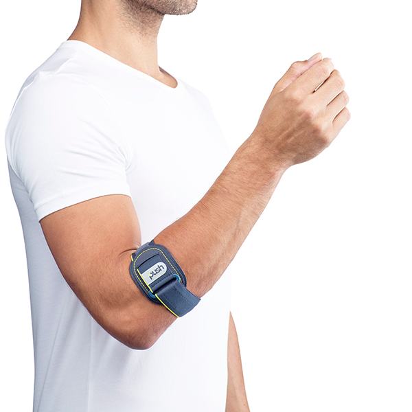 push sports elleboogbrace om de arm