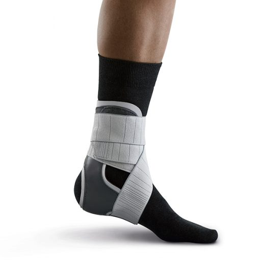 push med ankle brace with sock