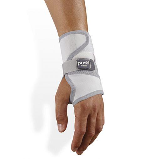 Push med wrist splint polsbrace bovenaanzicht
